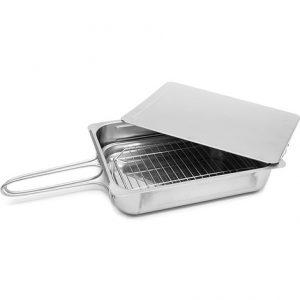 Abdoolally Quality Stainless Steel Stovetop Smoker