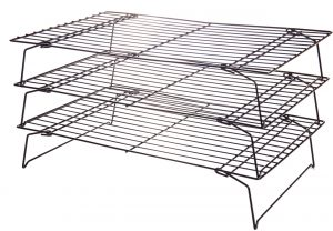 Abdoolally Quality Non-stick 3-Tier Cooling Rack