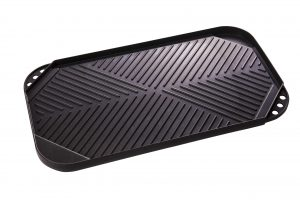 Abdoolally Quality Cast Aluminum Reversible Griddle
