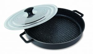 Abdoolally Quality Stovetop Grill Oven Pan, 12""