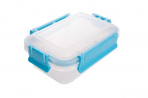 Abdoolally Quality Rectangular Plastic Food Container, 900ml