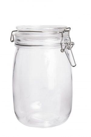 Abdoolally Quality Glass Storage Jar, 1000ml
