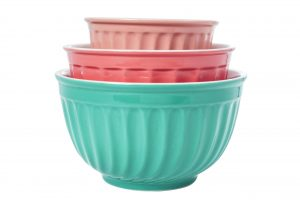 Abdoolally Quality 3-Piece Ceramic Mixing Bowl Set