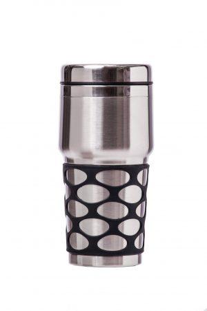 Abdoolally Quality Stainless Steel Double Wall Mug, 16oz