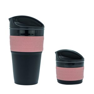 Abdoolally Quality Foldable Silicone Coffee Mug, 350ml